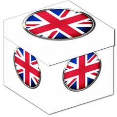United Kingdom Country Nation Flag Storage Stool 12