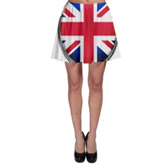 United Kingdom Country Nation Flag Skater Skirt