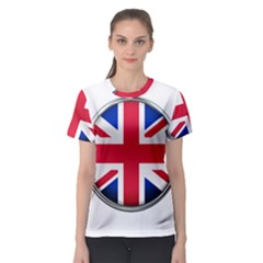 United Kingdom Country Nation Flag Women s Sport Mesh Tee