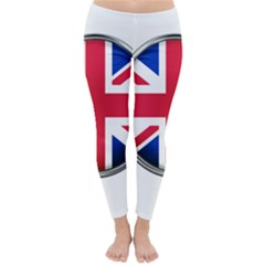 United Kingdom Country Nation Flag Classic Winter Leggings