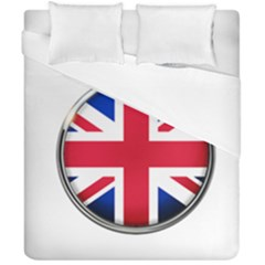 United Kingdom Country Nation Flag Duvet Cover Double Side (california King Size)