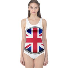 United Kingdom Country Nation Flag One Piece Swimsuit