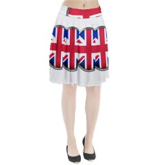 United Kingdom Country Nation Flag Pleated Skirt