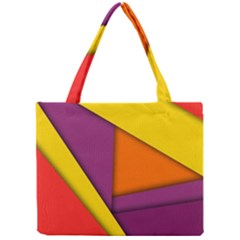 Background Abstract Mini Tote Bag