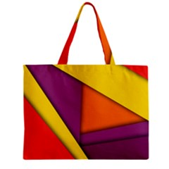 Background Abstract Zipper Mini Tote Bag