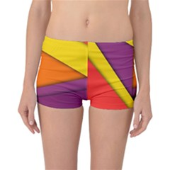 Background Abstract Reversible Boyleg Bikini Bottoms