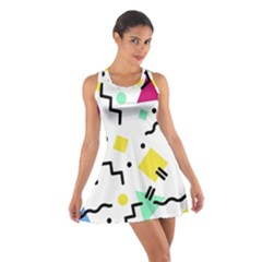 Art Background Abstract Unique Cotton Racerback Dress