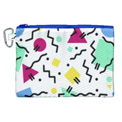 Art Background Abstract Unique Canvas Cosmetic Bag (xl) by Nexatart