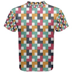 Background Abstract Geometric Men s Cotton Tee