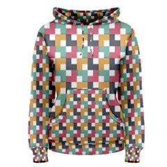 Background Abstract Geometric Women s Pullover Hoodie