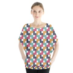 Background Abstract Geometric Blouse