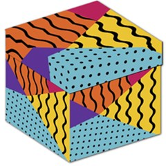Background Abstract Memphis Storage Stool 12