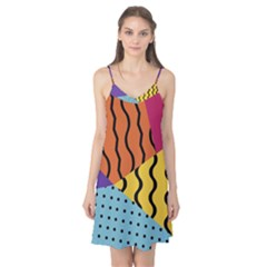 Background Abstract Memphis Camis Nightgown