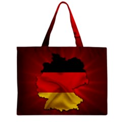Germany Map Flag Country Red Flag Mini Tote Bag