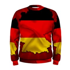 Germany Map Flag Country Red Flag Men s Sweatshirt