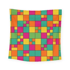 Squares Abstract Background Abstract Square Tapestry (small)