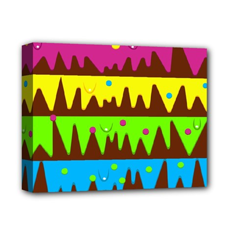 Illustration Abstract Graphic Deluxe Canvas 14  X 11