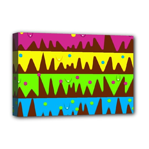 Illustration Abstract Graphic Deluxe Canvas 18  X 12