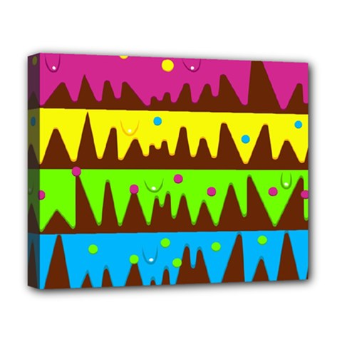 Illustration Abstract Graphic Deluxe Canvas 20  X 16