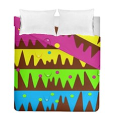 Illustration Abstract Graphic Duvet Cover Double Side (full/ Double Size)