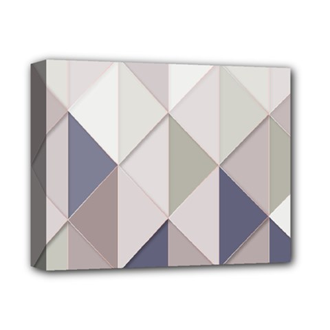 Background Geometric Triangle Deluxe Canvas 14  X 11