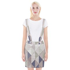 Background Geometric Triangle Braces Suspender Skirt