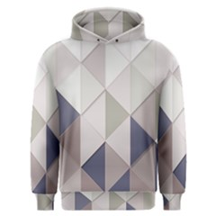 Background Geometric Triangle Men s Overhead Hoodie