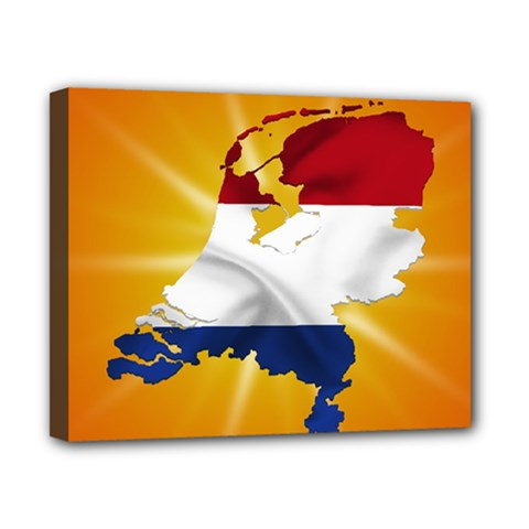 Holland Country Nation Netherlands Flag Canvas 10  X 8  by Nexatart