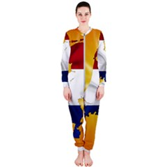 Holland Country Nation Netherlands Flag Onepiece Jumpsuit (ladies)