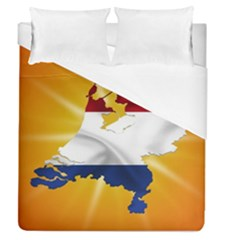 Holland Country Nation Netherlands Flag Duvet Cover (queen Size)