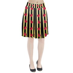 Love Heart Pattern Decoration Abstract Desktop Pleated Skirt