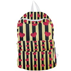 Love Heart Pattern Decoration Abstract Desktop Foldable Lightweight Backpack