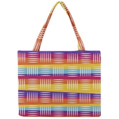Art Background Abstract Mini Tote Bag