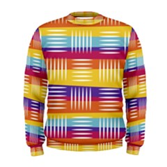 Art Background Abstract Men s Sweatshirt
