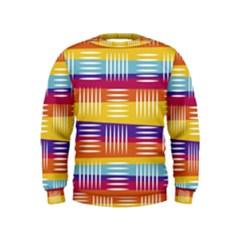 Art Background Abstract Kids  Sweatshirt