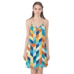 Geometric Retro Wallpaper Camis Nightgown