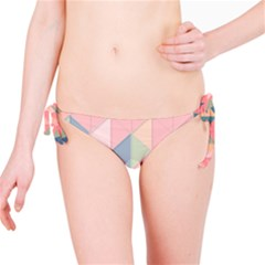 Background Geometric Triangle Bikini Bottom