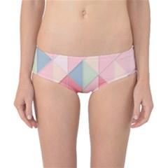 Background Geometric Triangle Classic Bikini Bottoms