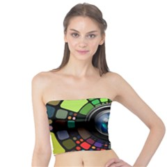 Lens Photography Colorful Desktop Tube Top