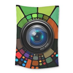 Lens Photography Colorful Desktop Small Tapestry