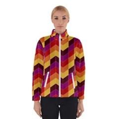 Geometric Pattern Triangle Winterwear