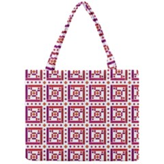 Background Abstract Square Mini Tote Bag