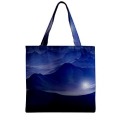 Planet Discover Fantasy World Grocery Tote Bag