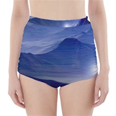 Planet Discover Fantasy World High Waisted Bikini Bottoms