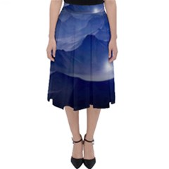 Planet Discover Fantasy World Folding Skater Skirt
