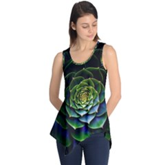 Nature Desktop Flora Color Pattern Sleeveless Tunic