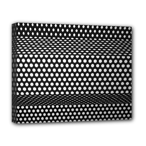 Holes Sheet Grid Metal Deluxe Canvas 20  X 16