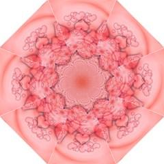Heart Love Friendly Pattern Straight Umbrellas