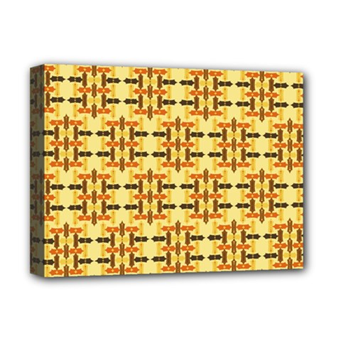 Ethnic Traditional Vintage Background Abstract Deluxe Canvas 16  X 12