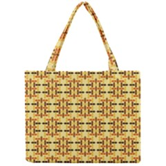 Ethnic Traditional Vintage Background Abstract Mini Tote Bag